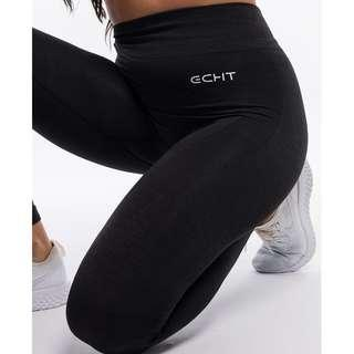 Echt Pure Leggings - Black Haze