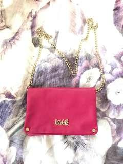 Kate Hill pink shoulder bag