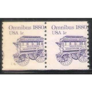 US Stamp Error Transportation Series