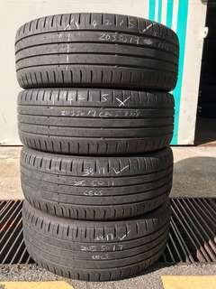 205/50/17 continental used tyre