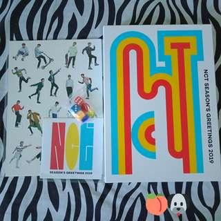NCT Season's Greetings Outbox, Boardgame, DVD