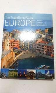 Book - The Traveller's Atlas Europe