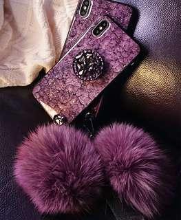 奢华紫色 iPhone X max purple colour