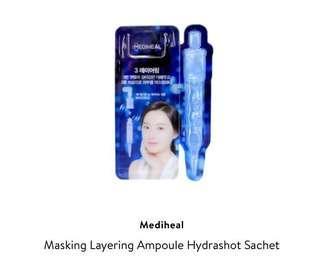 [NEW] MEDIHEAL - Masking Layering Ampoule Hydrashot Sachet