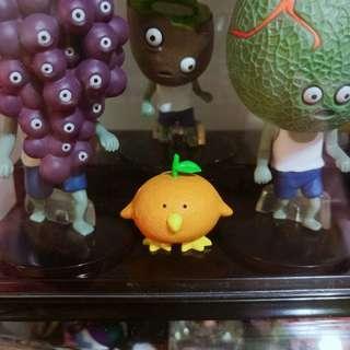 熱帶水果鳥 扭蛋 轉蛋 橘子