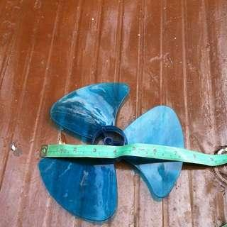 Fan blade 7.5 inches.