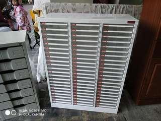 9.5成新66格效率櫃 長80寬34高106公分, 台南市區免運費