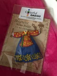🚚 Korean Hanbok Magnet