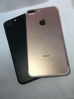 20/3仍然有貨平放 IPhone 7plus 128GB rose gold / black 99%new no dent or scratched 超新靚機 無花無崩