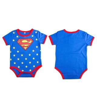🚚 Baby Romper Infant Superman Comfy Jumpsuit
