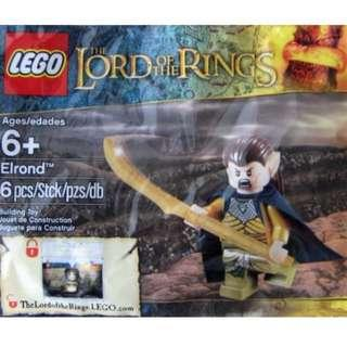 Lego Lord of The Rings Hobbit 5000202 Elrond LOTR Polybag - Free Postage Brand New Rare