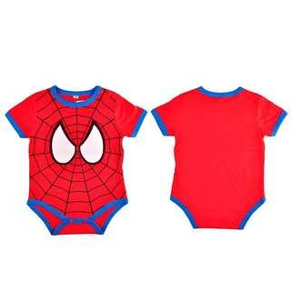 🚚 Baby Romper Spiderman Infant Jumpsuit