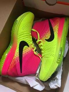 Nike zoom all out flyknit 女裝跑鞋 US 7.5