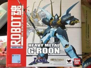全新日版Robot魂重戰機heavy metal,G-Roon