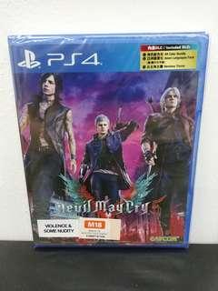 (Brand New) PS4 Devil May Cry 5 / R3