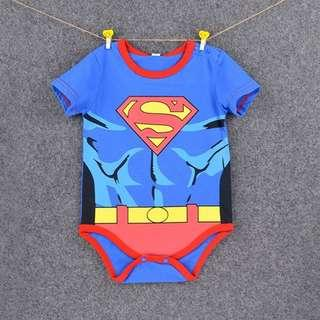 🚚 Baby Romper Superman Jumpsuit