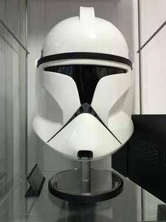 Star wars clone trooper helmet EFX 玻璃纖維