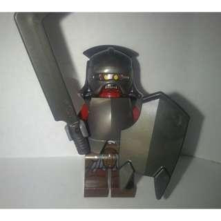 Lego Lord of the Rings Uruk Hai Orc with Shield and Sword Authentic - Free postage