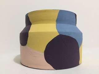 Designed Terra Cotta Clay Pots/ Vase - Design A