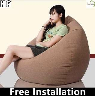 🚚 Bean bag/Small sofa for home use/(80*90 or 90*110)cm/Type A