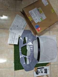 Honda ex5 110i Asahi windshield visor complete mask