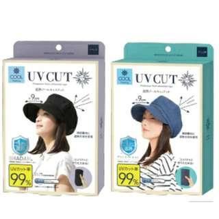 ✦日本COOL UV CUT 小顏抗UV防曬鴨舌帽✦