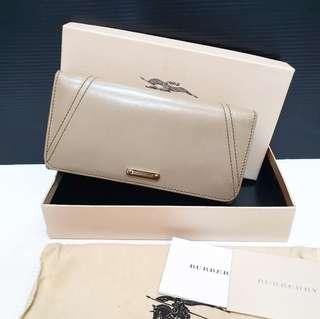 REPRICE !!! Authentic Burberry Long Wallet