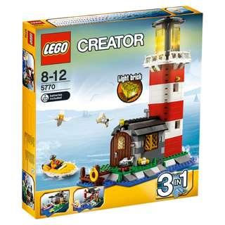 Lego Creator 5770 Lighthouse Island Brand New