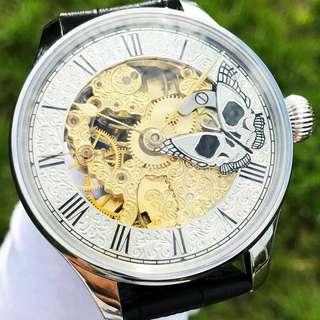 OMEGA ANTIQUE POCKET/SKELETON WATCH IMMORTAL BUTTERFLY 1912