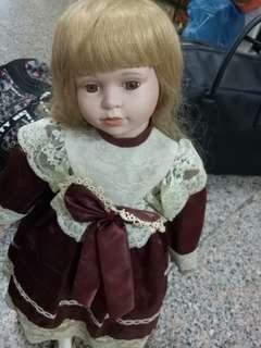 🚚 古早歐風陶瓷娃娃