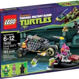Lego 79102 TMNT Teenage Mutant Ninja Turtles Stealth Shell in Pursuit Brand New