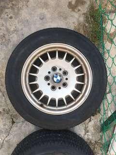 """BMW 5 Series (e28) original 14"""" Rims"""