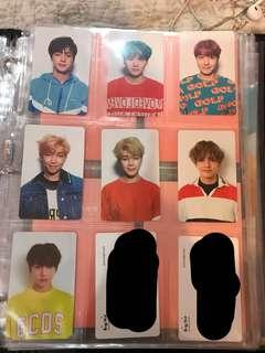 BTS LOVE YOURSELF HER PHOTOCARDS