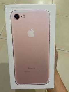 🚚 Iphone 7 Rose Gold 128GB
