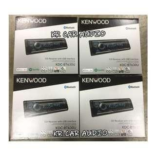 KDC-BT630U KENWOOD SINGLE DIN PLAYER