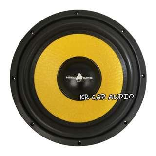 "MH-12W Music Hawk 12"" Car Woofer [300W]"