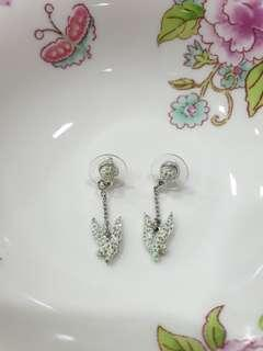 🚚 Swarovski Disney Tinkerbell earrings