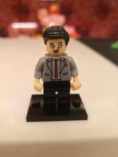 🚚 Mr Bean Non Lego brand minifigure (Rare)