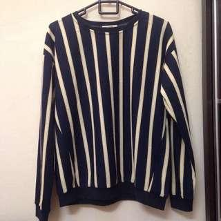 Brands Outlet Stripe Top Blouse