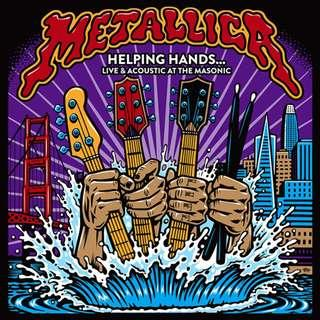 Metallica - Helping Hands... Live & Acoustic At The Masonic CD
