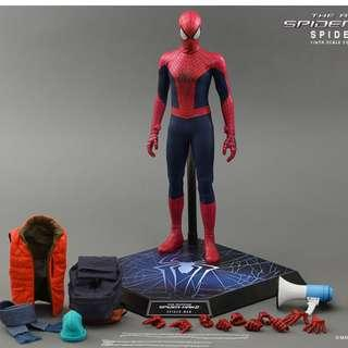 HOT TOYS MMS 246 The Amazing Spider-Man 2 Spiderman and Electro 1/6 MISB Set of 2 Sealed
