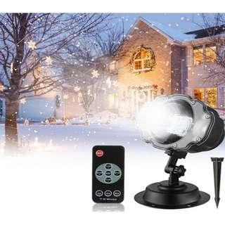 Snow Flower Lamp for indoor and outdoor with remote control