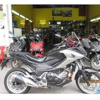 Honda NC750X ABS 2016 D/P $500 or $0 With out insurance (Terms and conditions apply. Pls call 67468582 De Xing Motor Pte Ltd Blk 3006 Ubi Road 1 #01-356 S 408700.