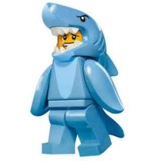 Lego 71011 Minifig Series 15 Shark Guy - Free Postage Brand New
