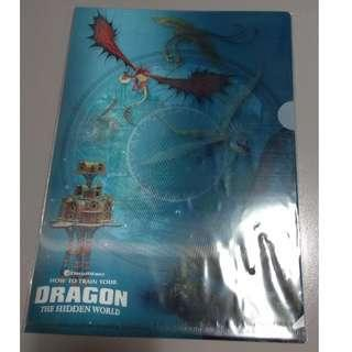 #FREE - How To Train Your Dragon The Hidden World - Paper Folder