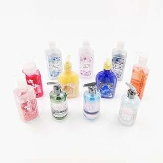 Bath and Body Works Hand Soaps
