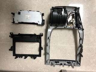 豐田 TOYOTA GGH20 ALPHARD 車機框、冷氣制、改機框