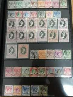 Singapore stamps Mint & used