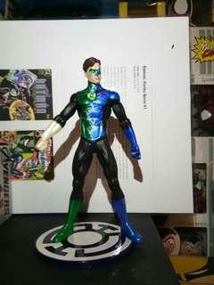 Loose DC Direct Blackest Night Hal Jordan Green and Blue Lantern