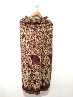 Kain Batik Lipat Depan